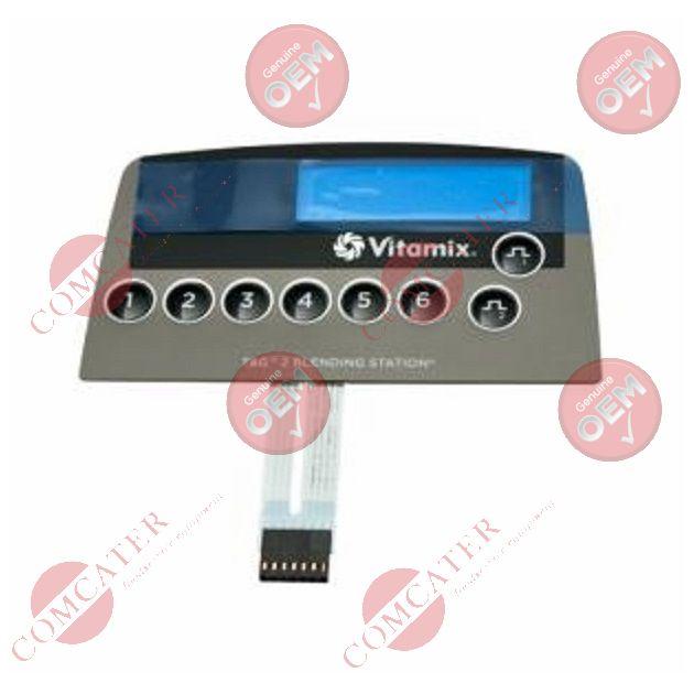 Vita-Mix 15728 Upper Base Shell Black